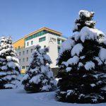Hotel Arman v zime
