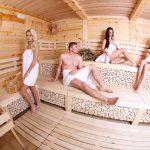 Sauna - viac pary