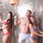 Sauna - ochladzovacia sprcha