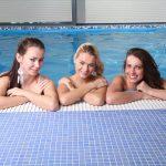 Wellness - bazén - dievčatá